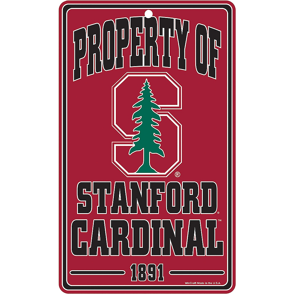 Property of Stanford Cardinal Sign Image #1