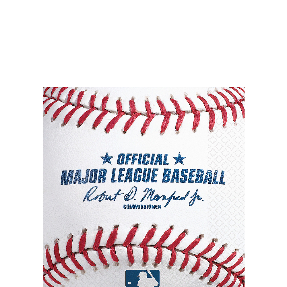Rawlings Baseball Beverage Napkins 16ct Image #1