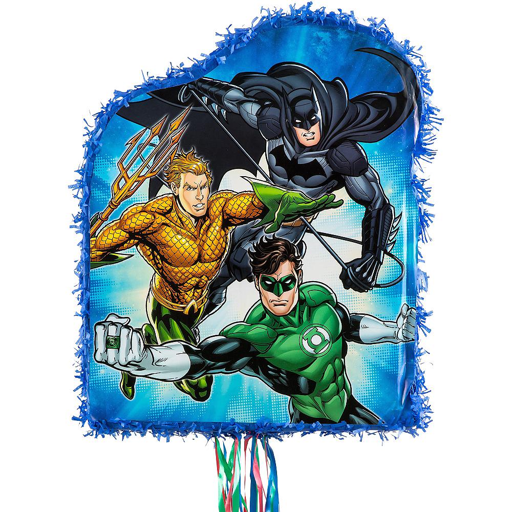 Pull String Justice League Pinata Image #2