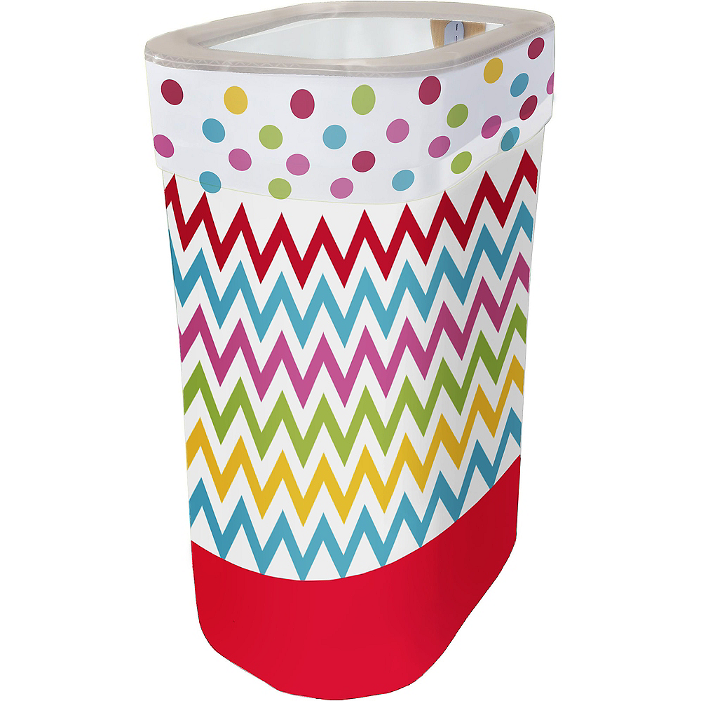 Nav Item for Bright Polka Dot & Chevron Pop-Up Trash Bin Image #1