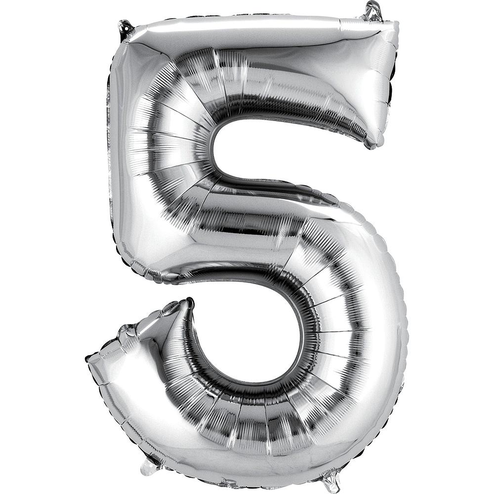 25th Anniversary Balloon Bouquet No 25 Image #3