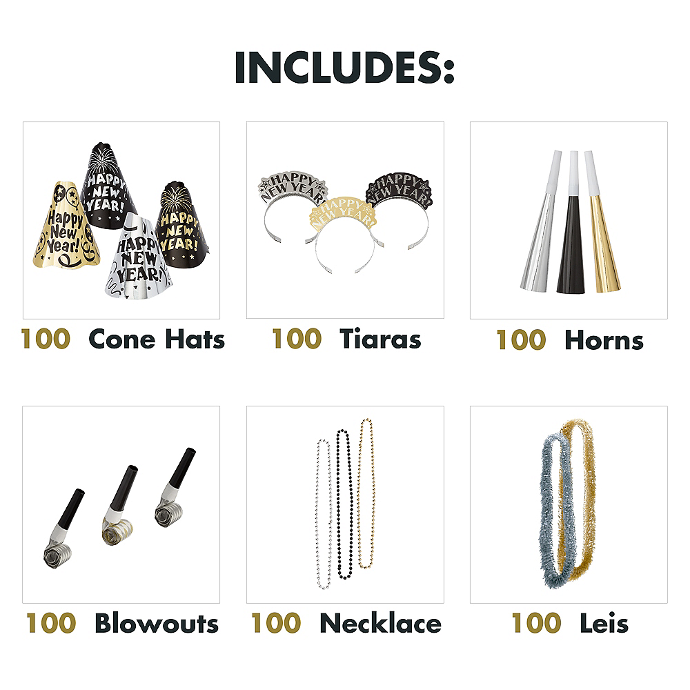 Kit For 200 - Fantasy New Year's Party Kit Image #2