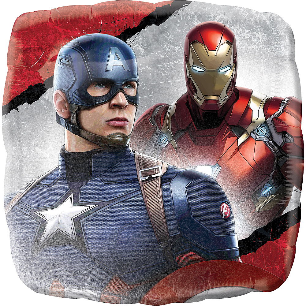Captain America: Civil War Balloon, 17in Image #1