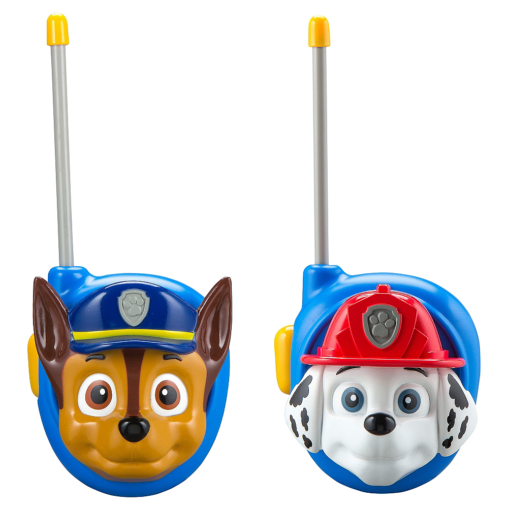 Paw Patrol Walkie Talkies 2ct Party City