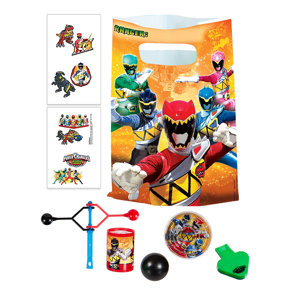 Power Rangers Basic Favor Kit for 8 Guests Image #1