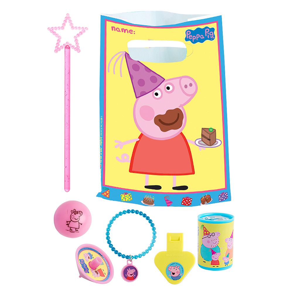 Peppa Pig Basic Favor Kit for 8 Guests Image #1