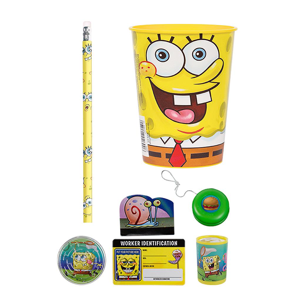 Sponge Bob Super Favor Kit for 8 Guests Image #1