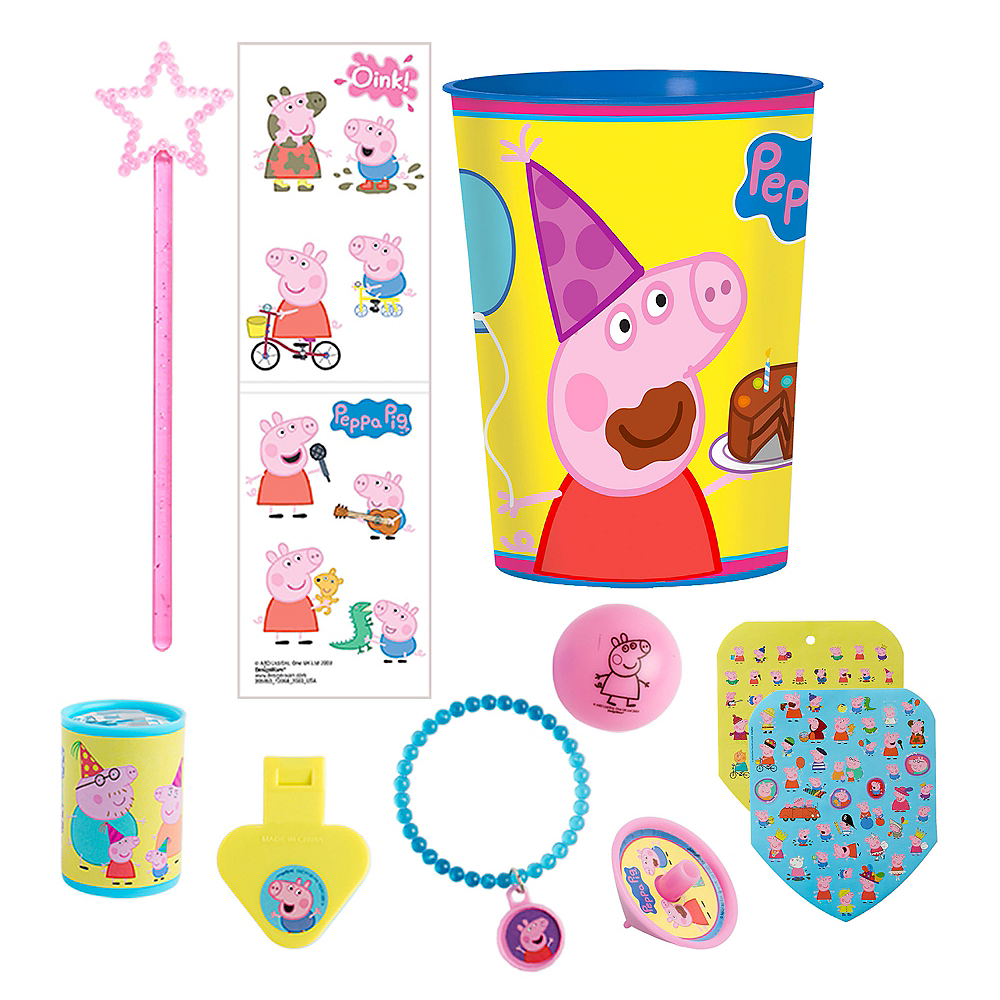 Peppa Pig Super Favor Kit for 8 Guests Image #1