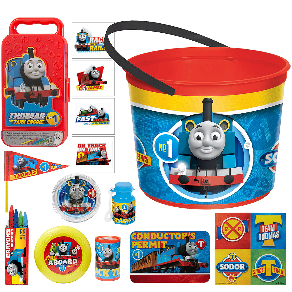 Thomas the Tank Engine Ultimate Favor Kit for 8 Guests Image #1