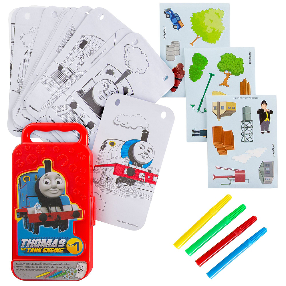 Thomas the Tank Engine Ultimate Favor Kit for 8 Guests Image #4
