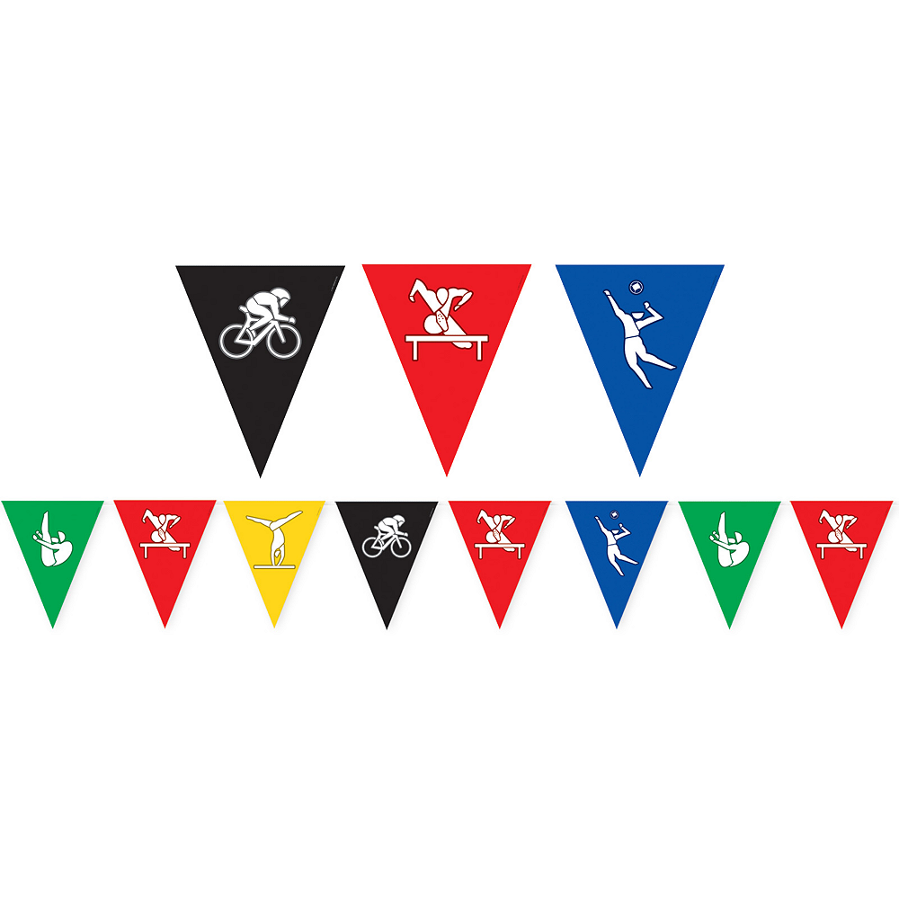 Summer Games Pennant Banner Image #1