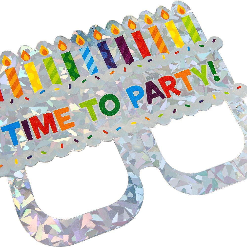Prismatic Cake Glasses Invitations 8ct Image #4