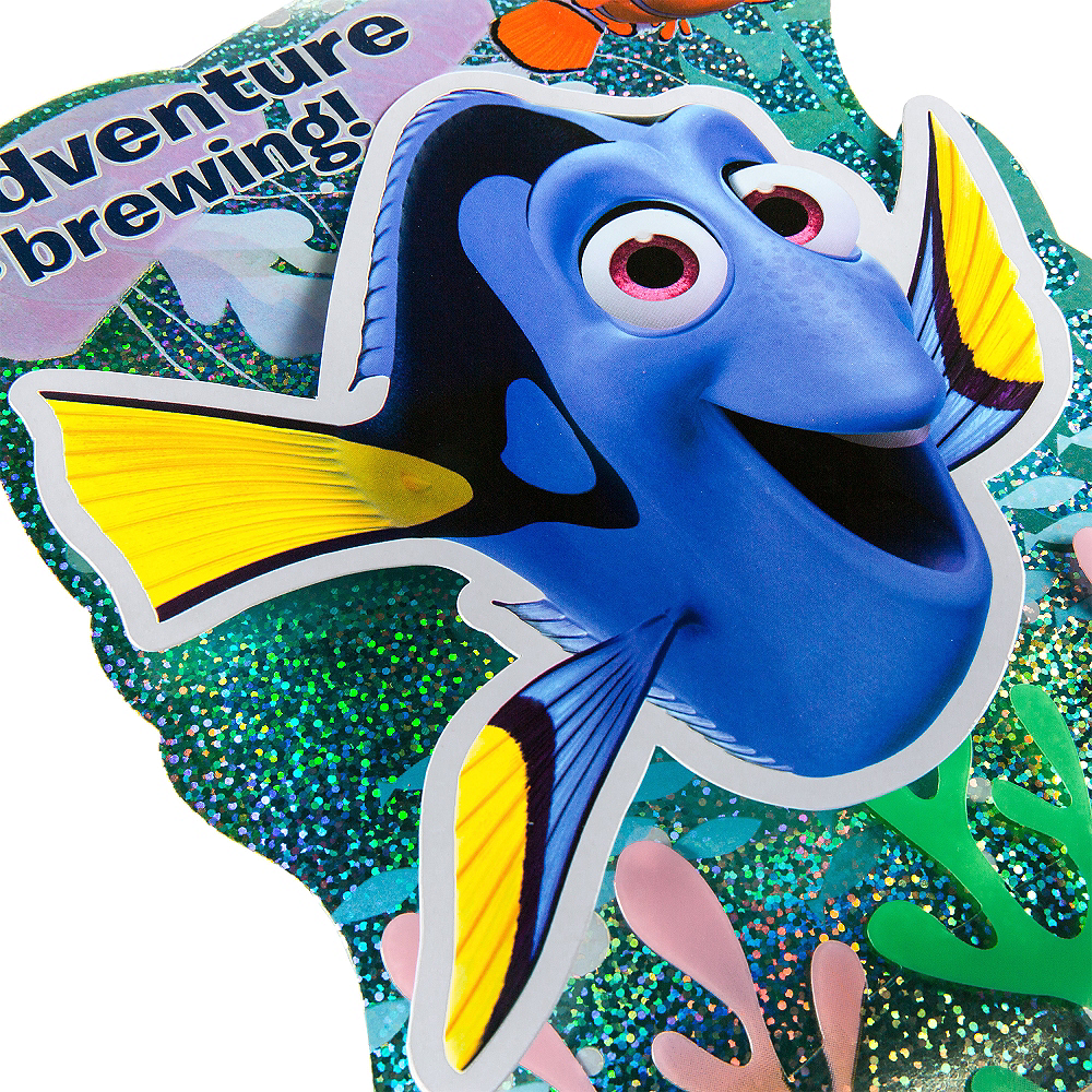 Premium Prismatic Finding Dory Invitations 8ct Image #3