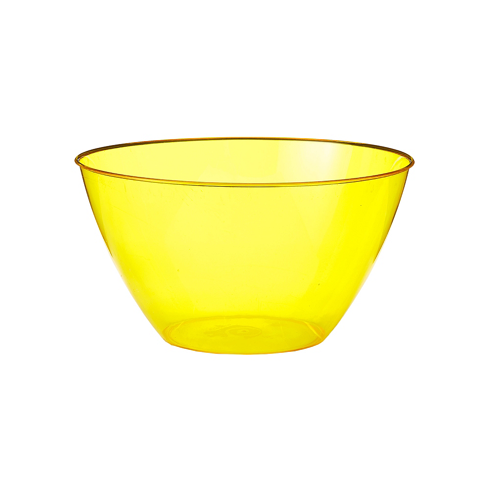 Small Yellow Plastic Bowl Image #1