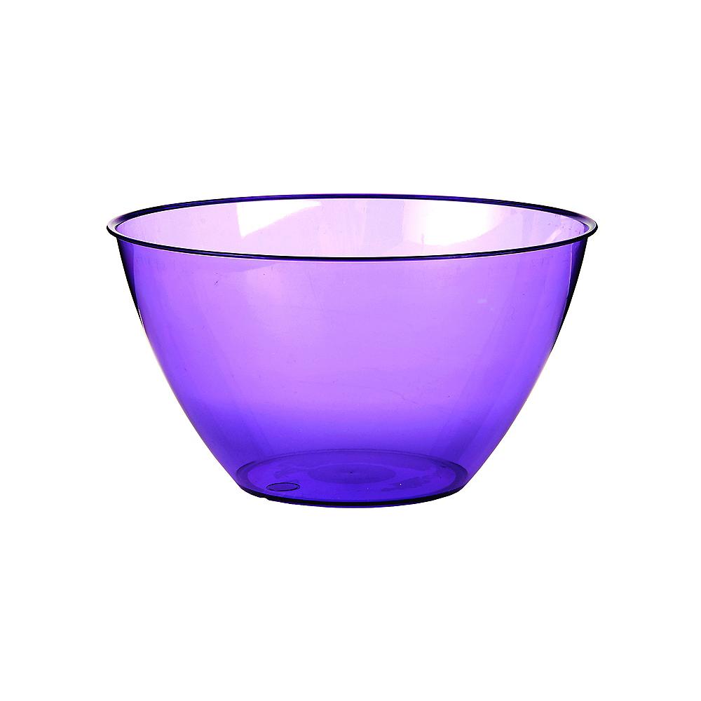 Small Purple Plastic Bowl Image #1