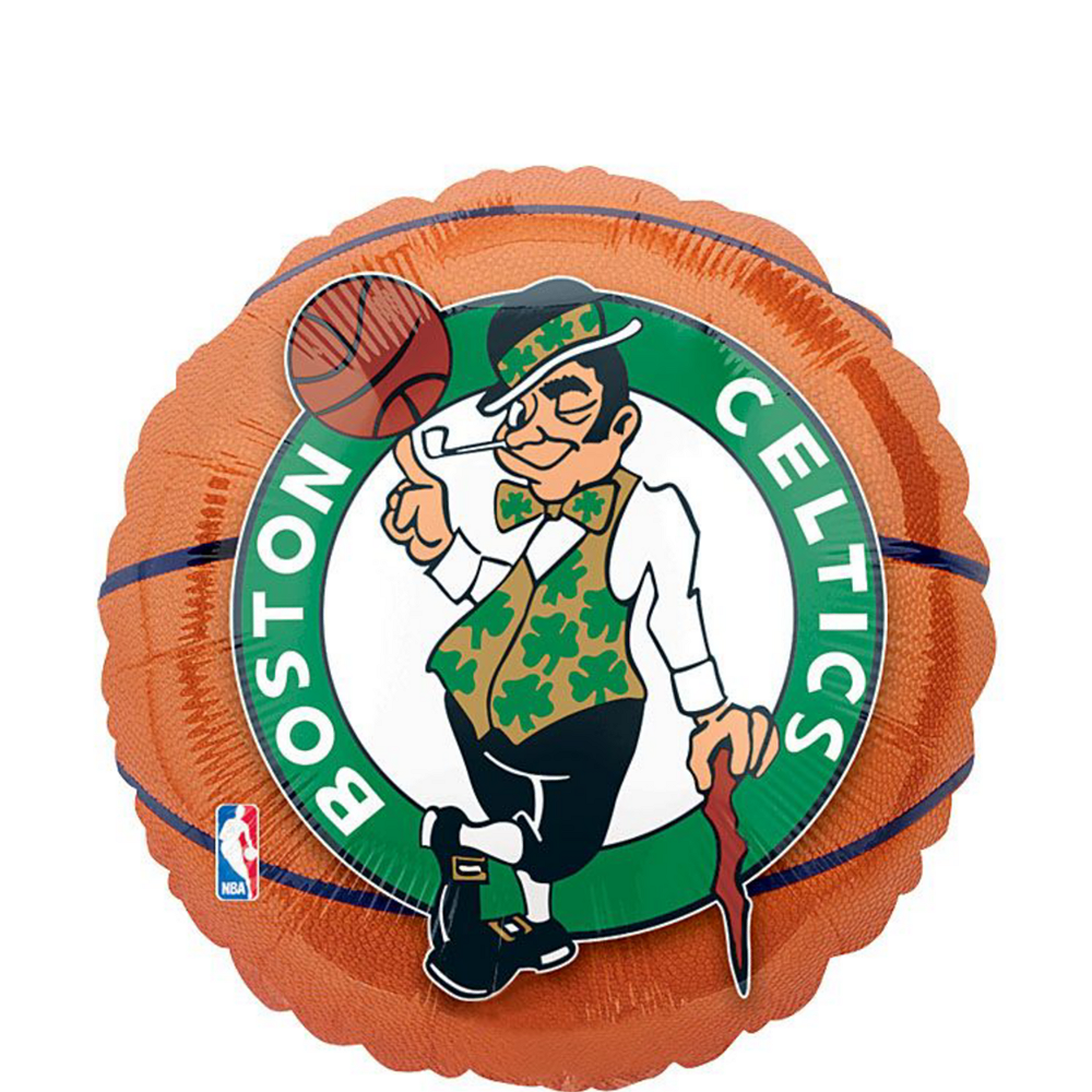 Boston Celtics Balloons 3ct - Basketball Image #2