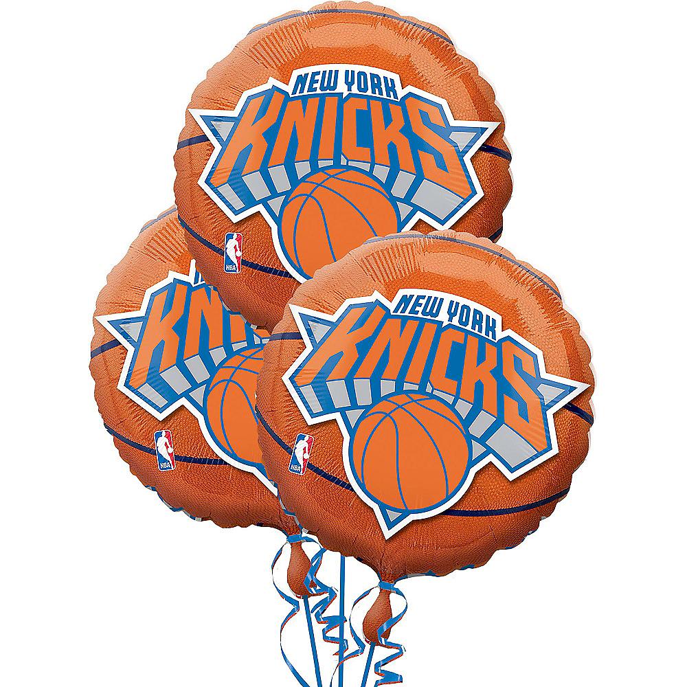 New York Knicks Balloons 3ct - Basketball Image #1