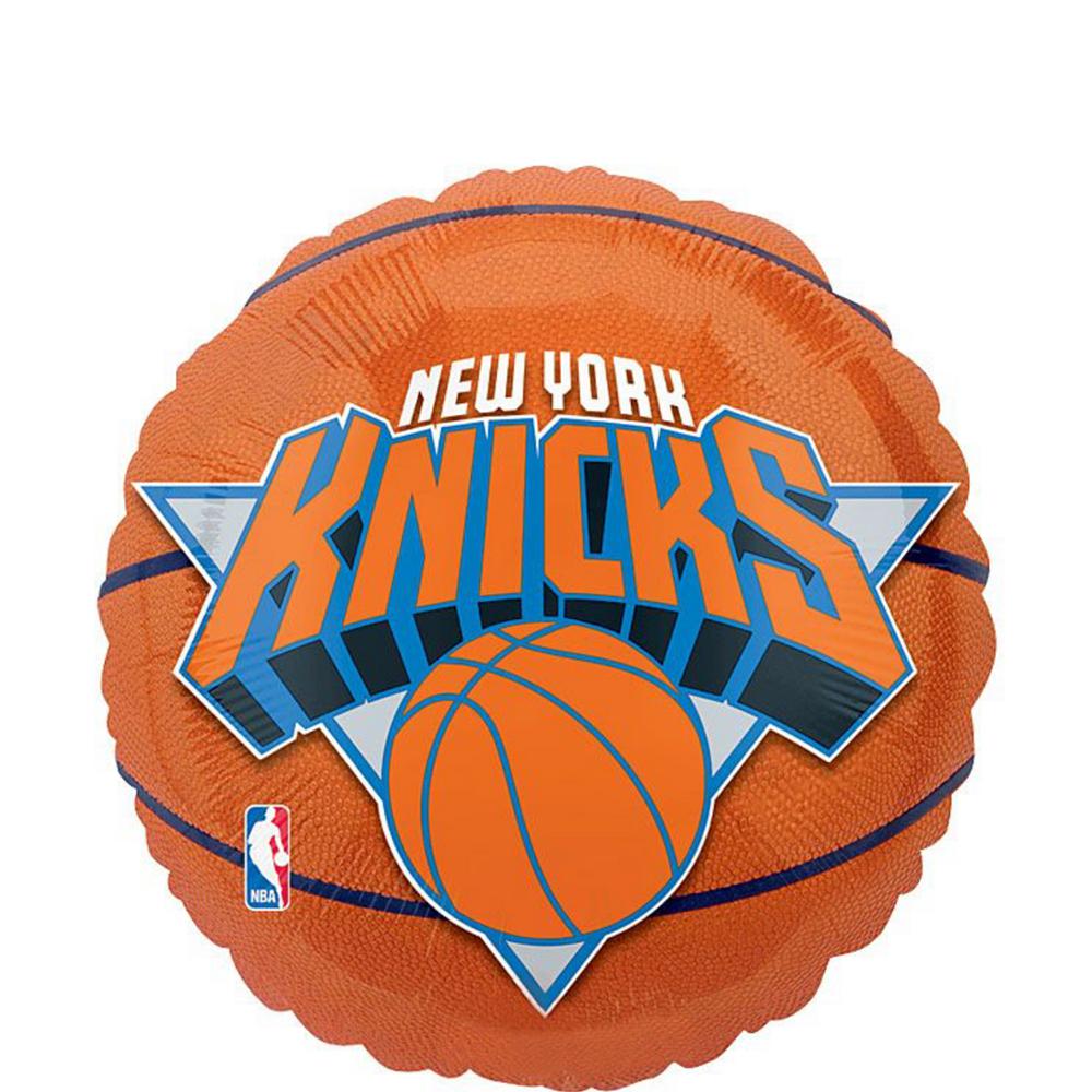 New York Knicks Balloons 3ct - Basketball Image #2