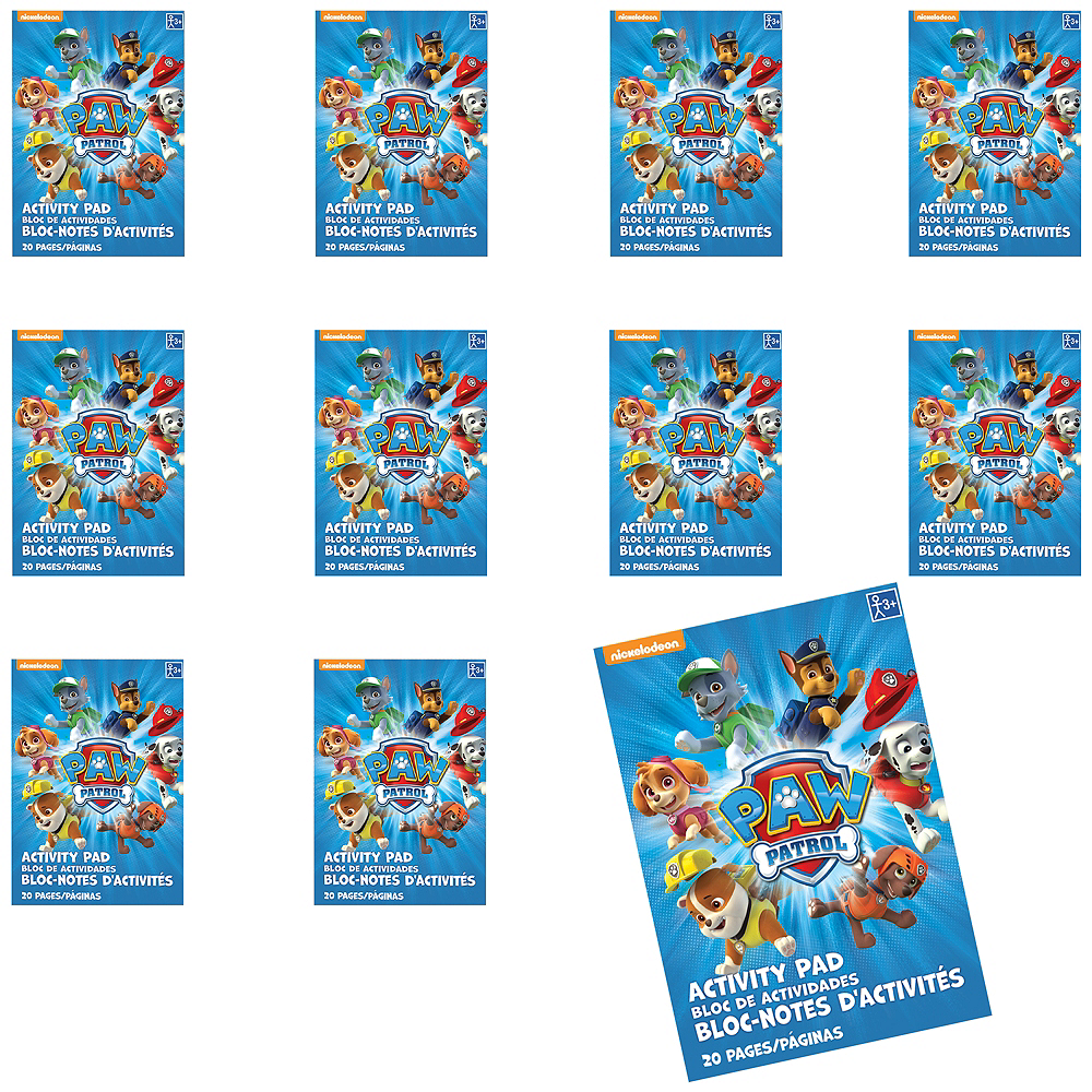 PAW Patrol Coloring Books 48ct | Party City