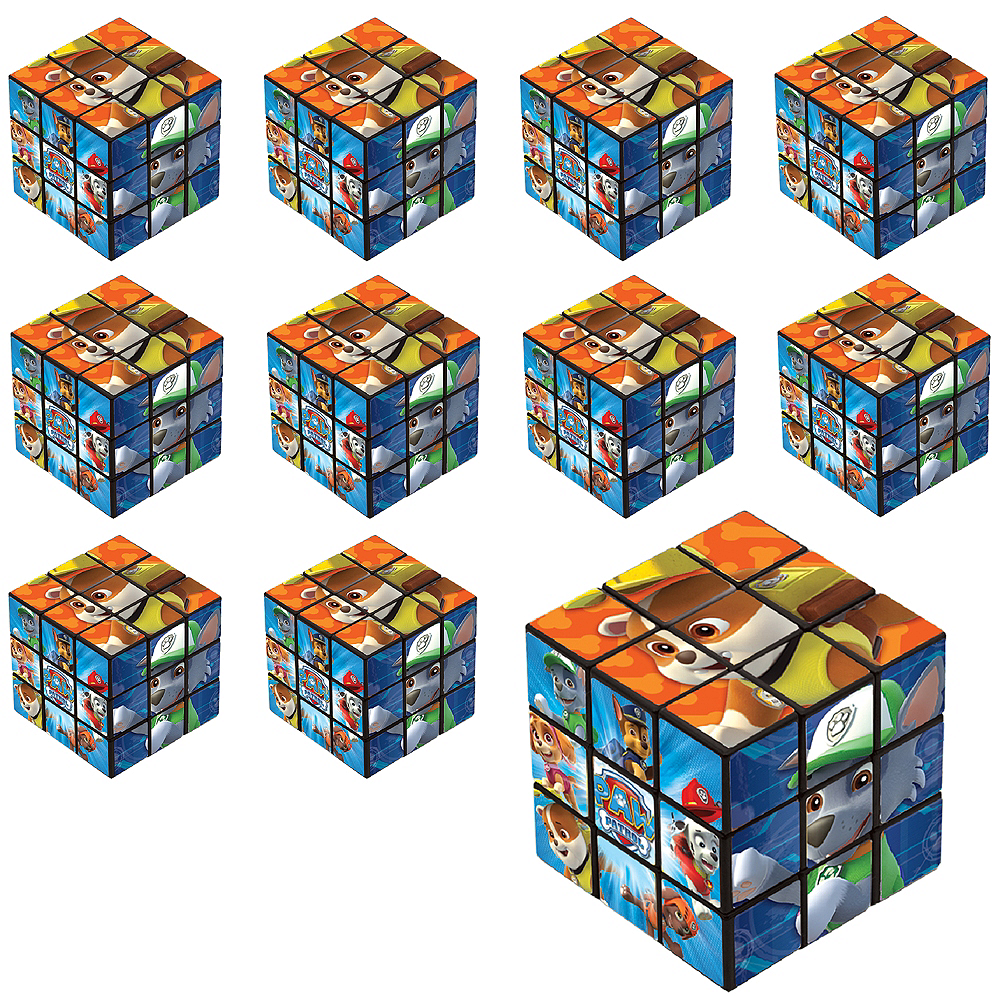 Nav Item for PAW Patrol Puzzle Cubes 24ct Image #1