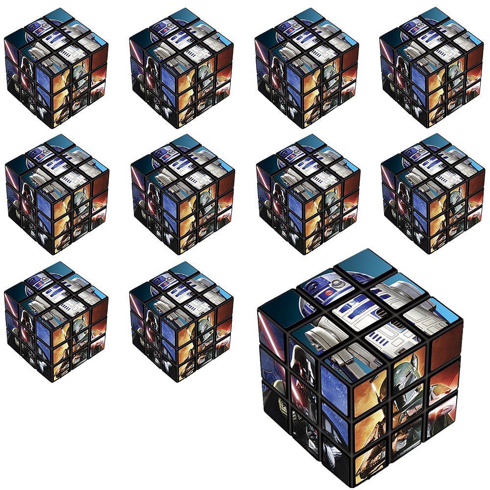 Star Wars Puzzle Cubes 24ct Image #1