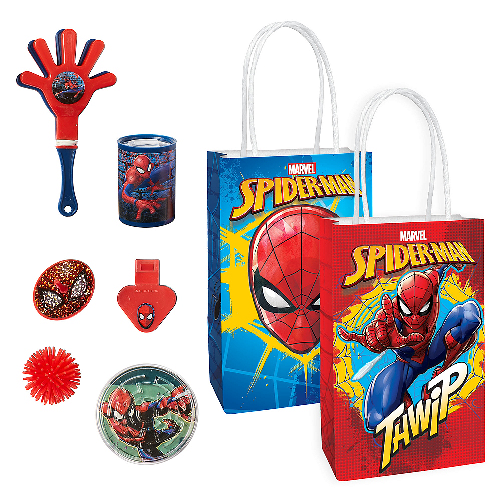 Spider-Man Basic Favor Kit for 8 Guests Image #1