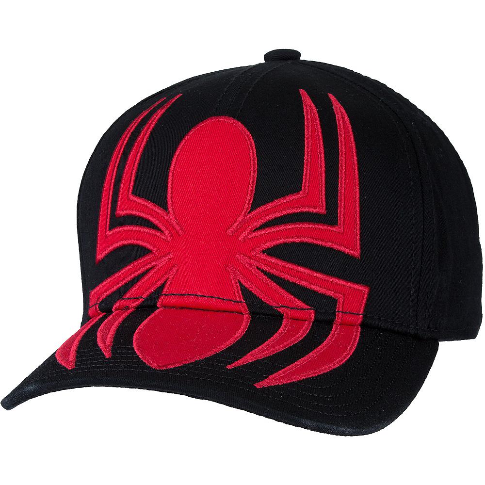 15470069f09 Black Spider-Man Baseball Hat Image  1 ...