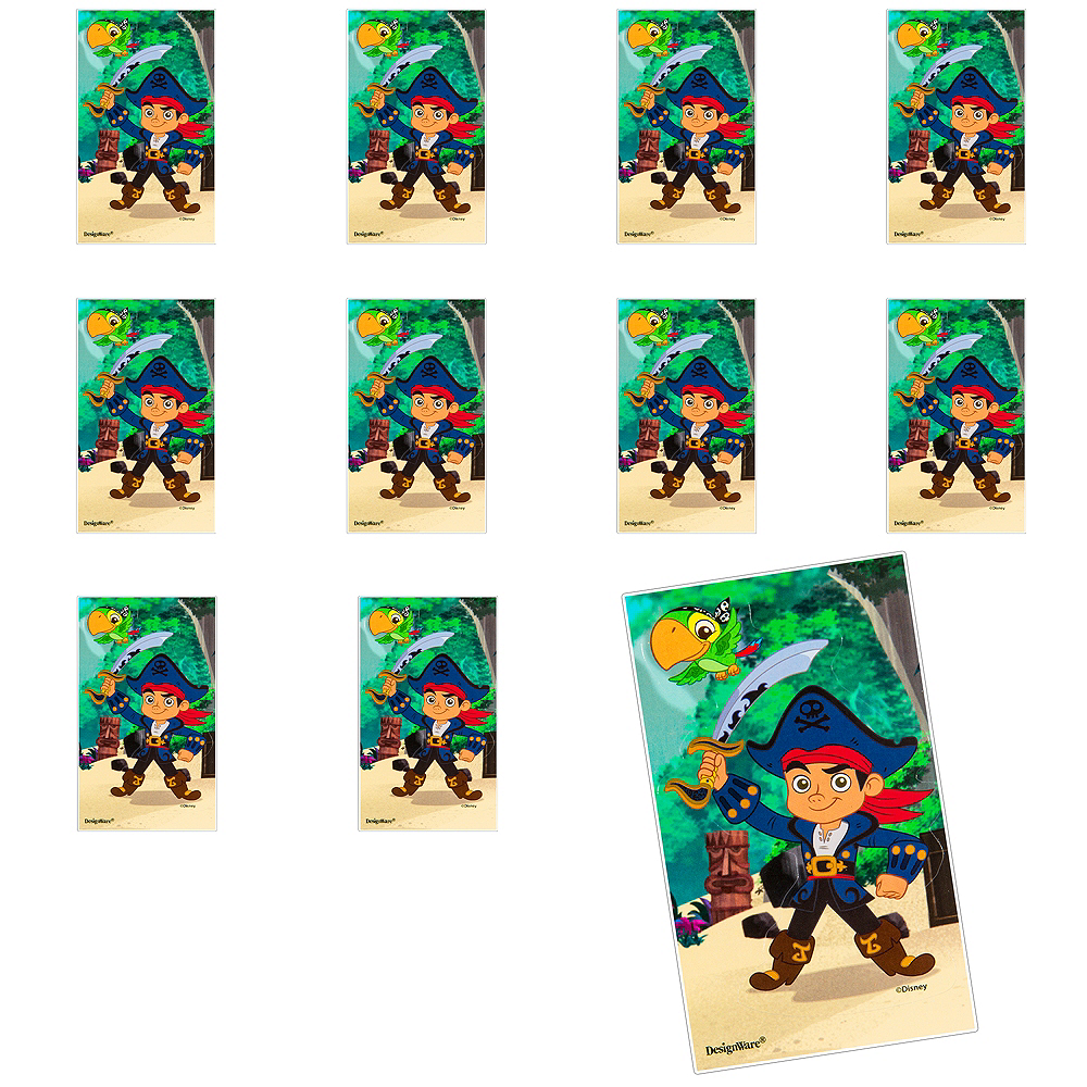 Jumbo Jake and the Never Land Pirates Stickers 24ct Image #1