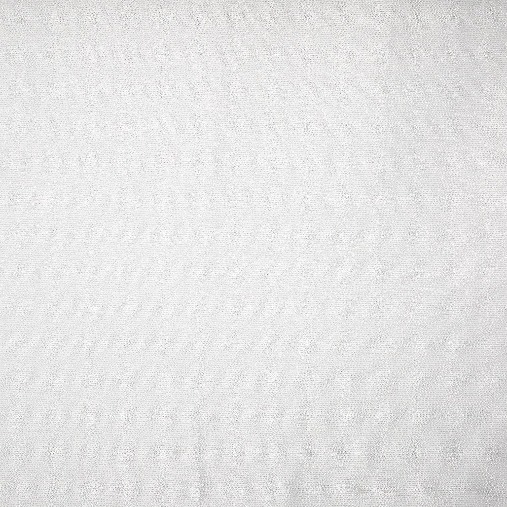 Metallic White Fabric Tablecloth Image #2