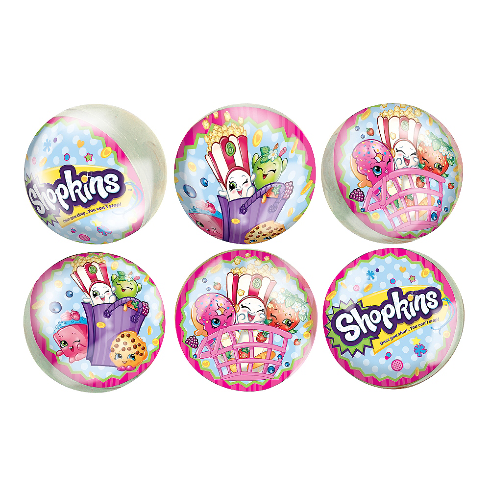 Shopkins Bounce Balls 6ct Image #1