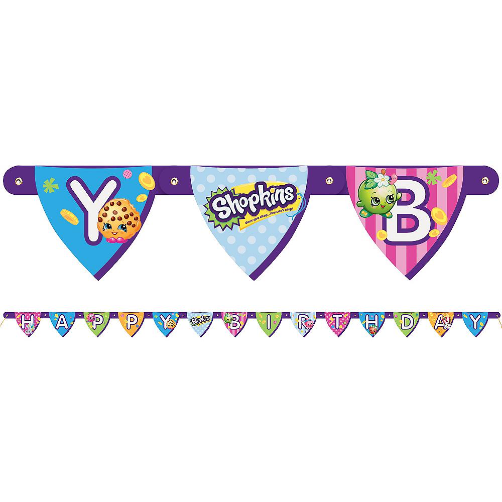 Shopkins Birthday Banner Image #1