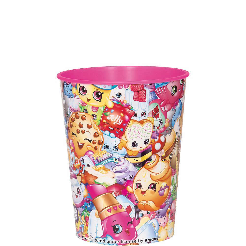 Pink Shopkins Favor Cup Image #1