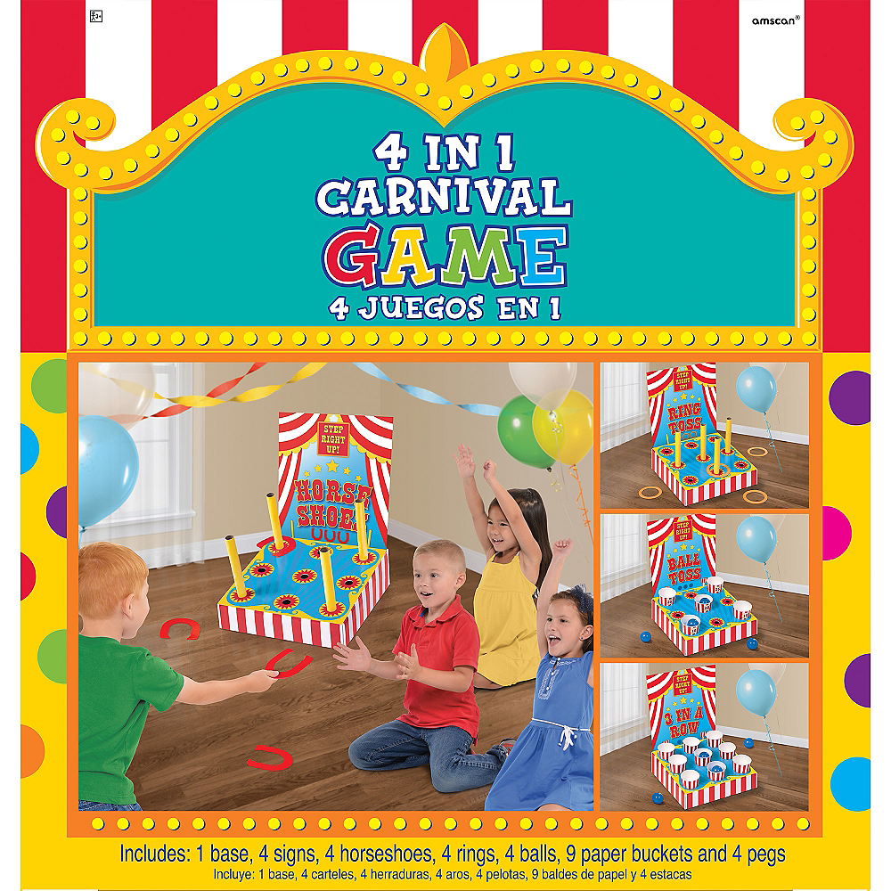 4-in-1 Carnival Games Set Image #1
