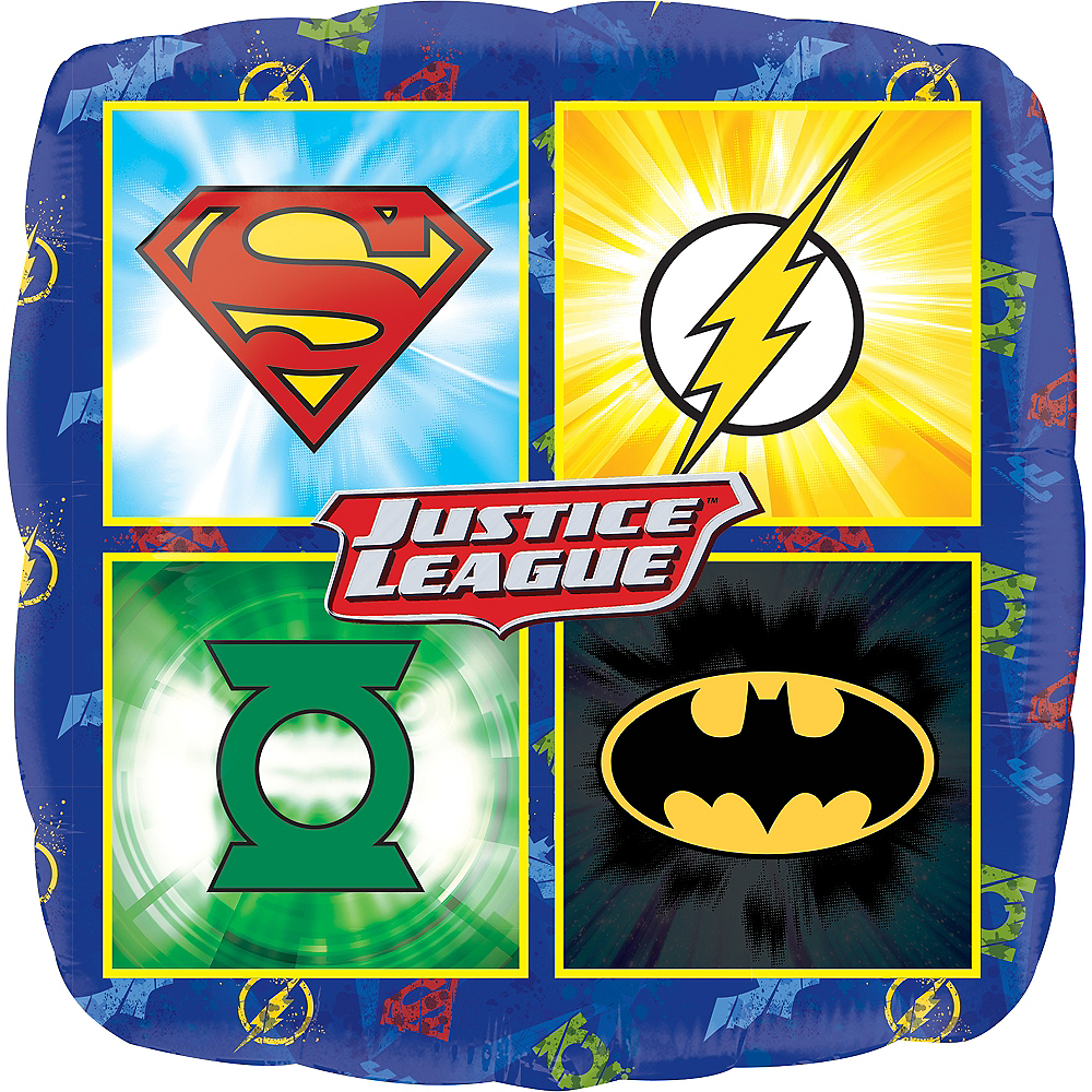 Justice League Balloon Image #1