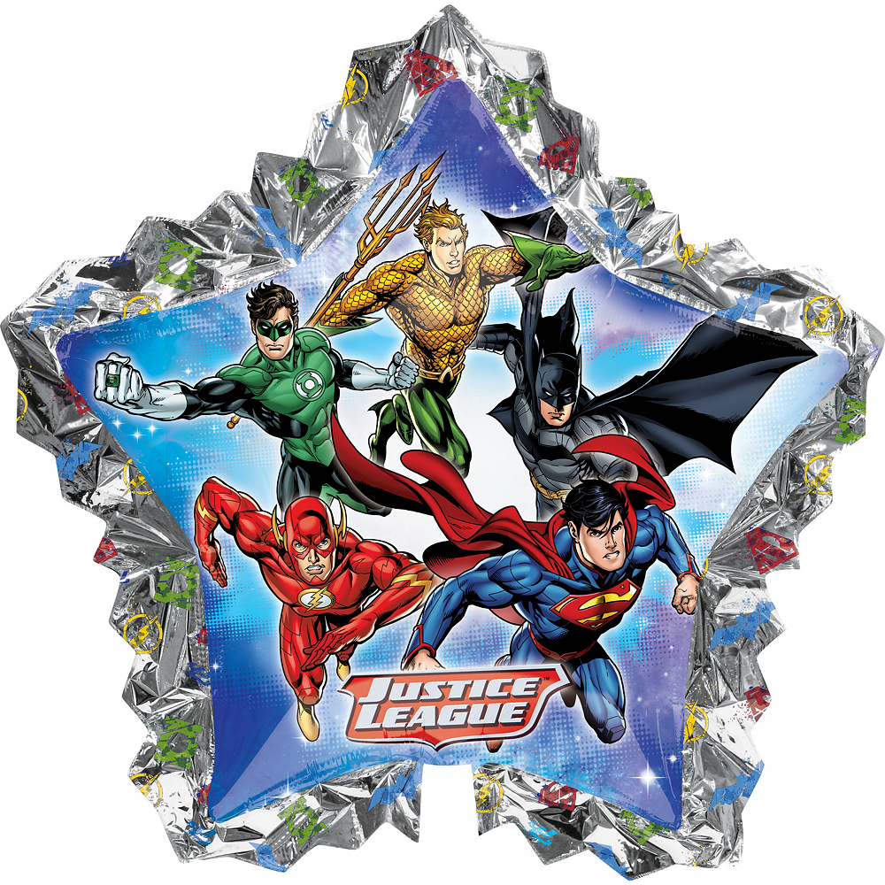 Justice League Balloon - Giant Star Image #1