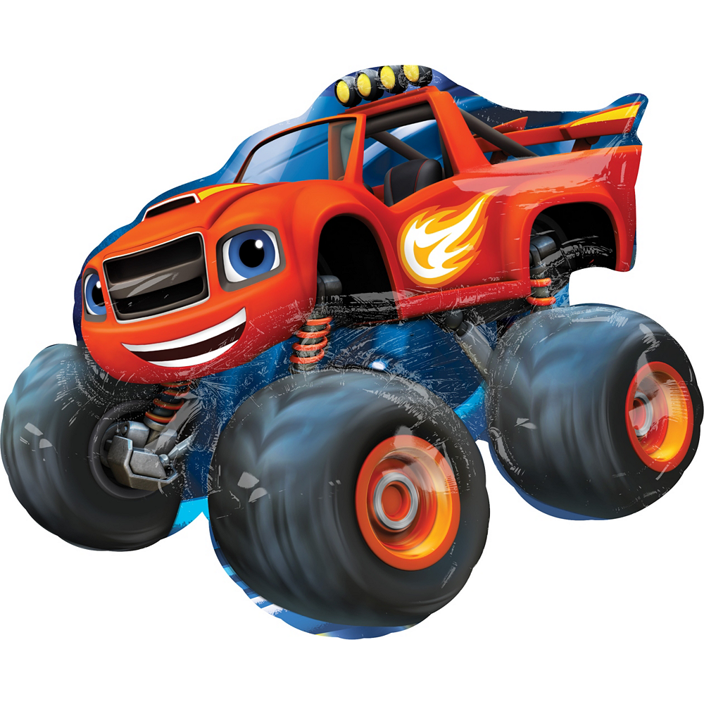 Blaze and the Monster Machines Balloon - Giant Image #1