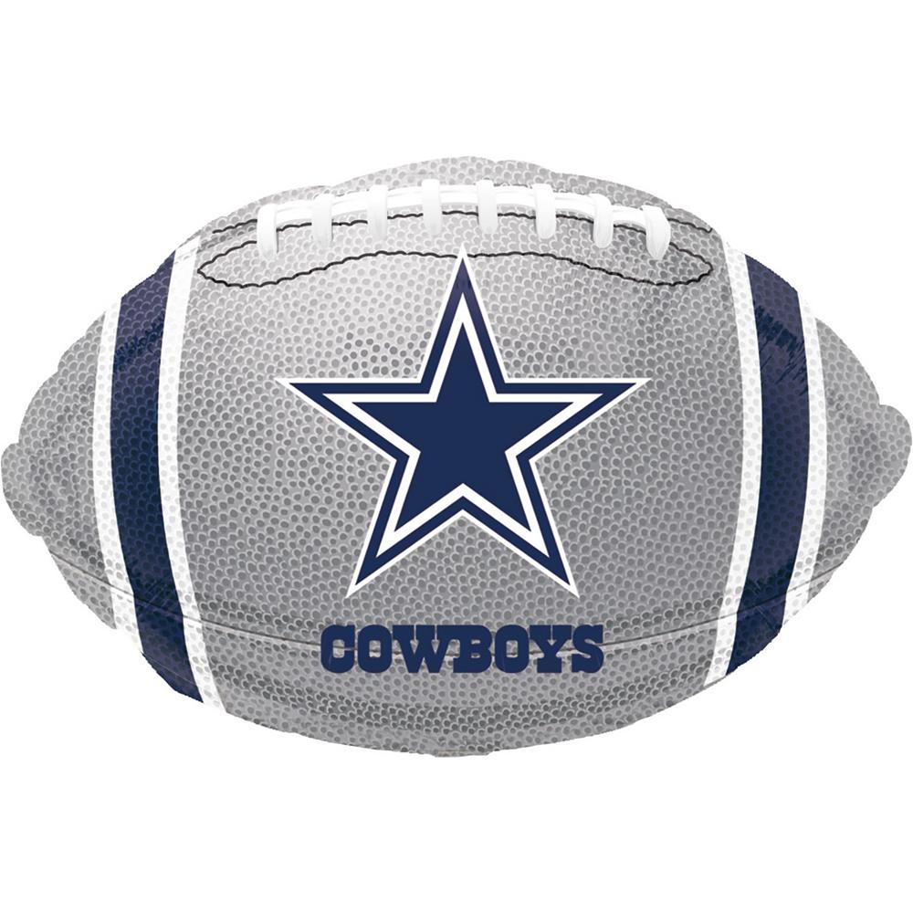 Dallas Cowboys Balloon Bouquet Deluxe 5pc Image #4