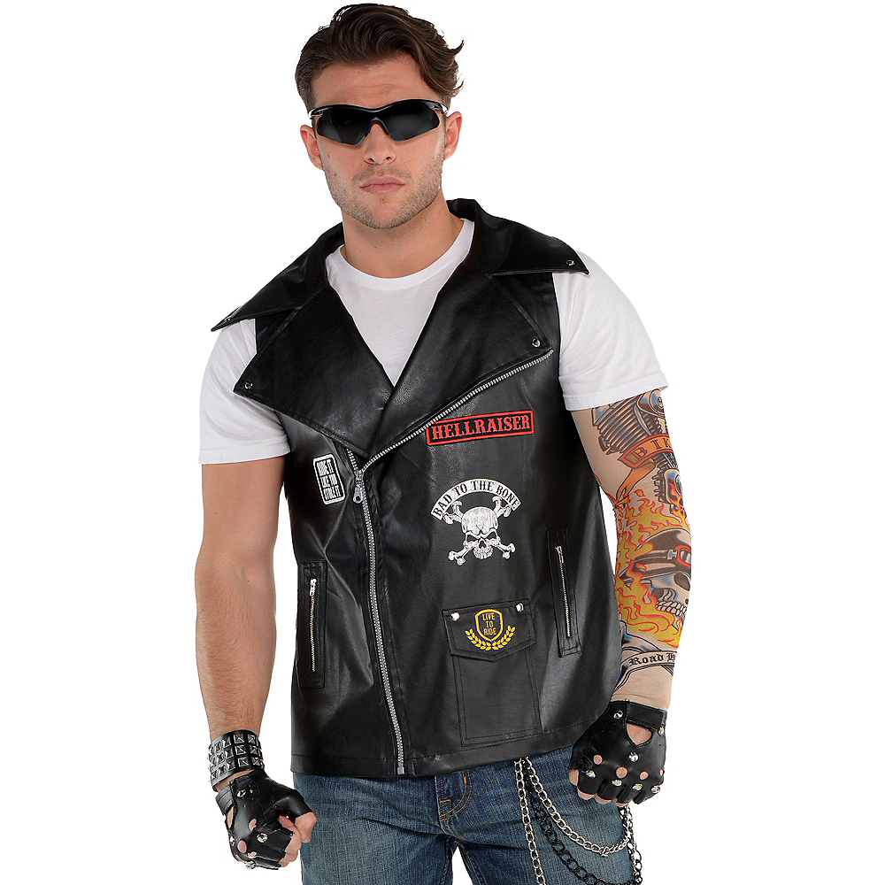Biker Vest Image #1