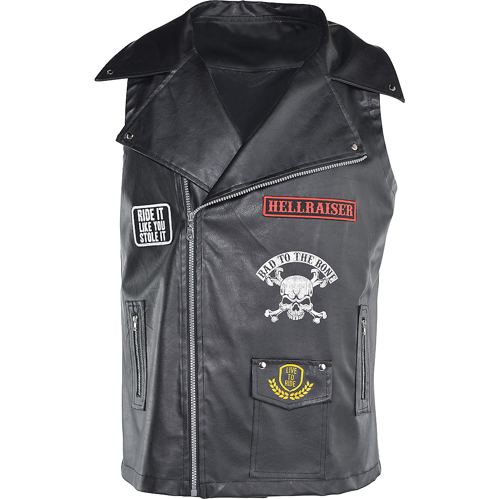 Biker Vest Image #3