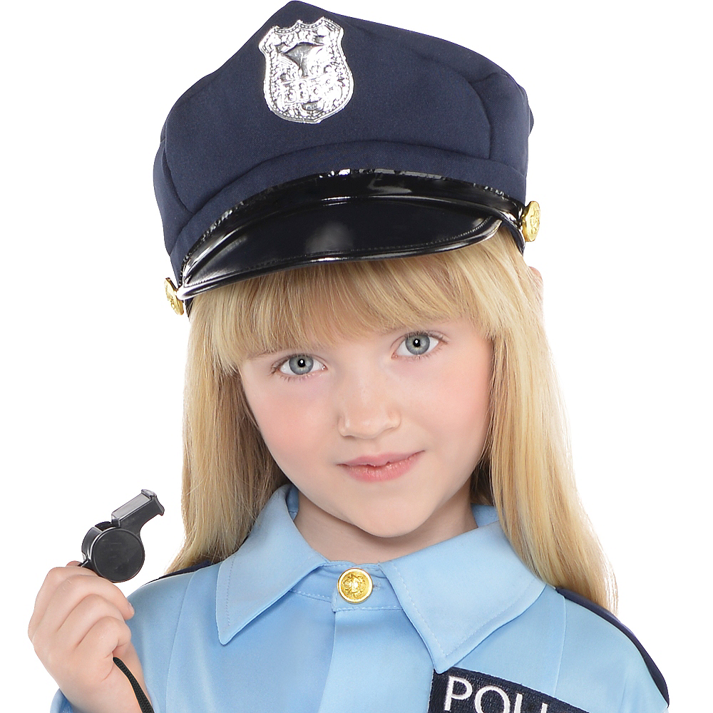 Child Traffic Cop Costume Image #2