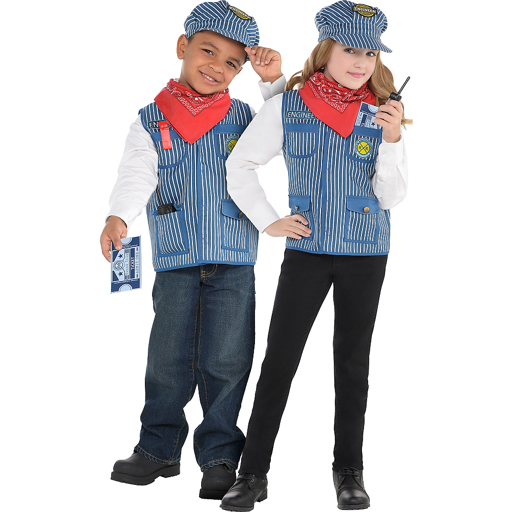 9326f296e8 Nav Item for Child Train Engineer Costume Image  1 ...