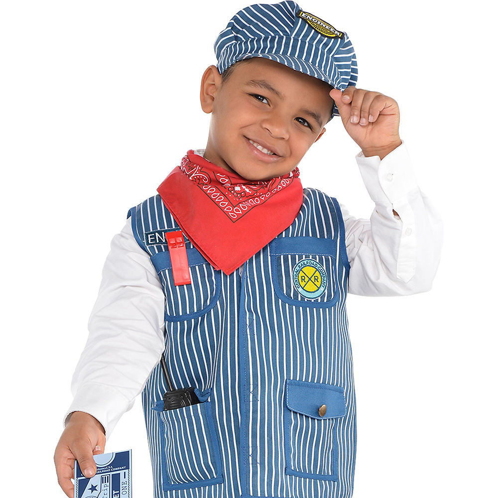 7575f8fbd5fc1 ... Child Train Engineer Costume Image  3 ...