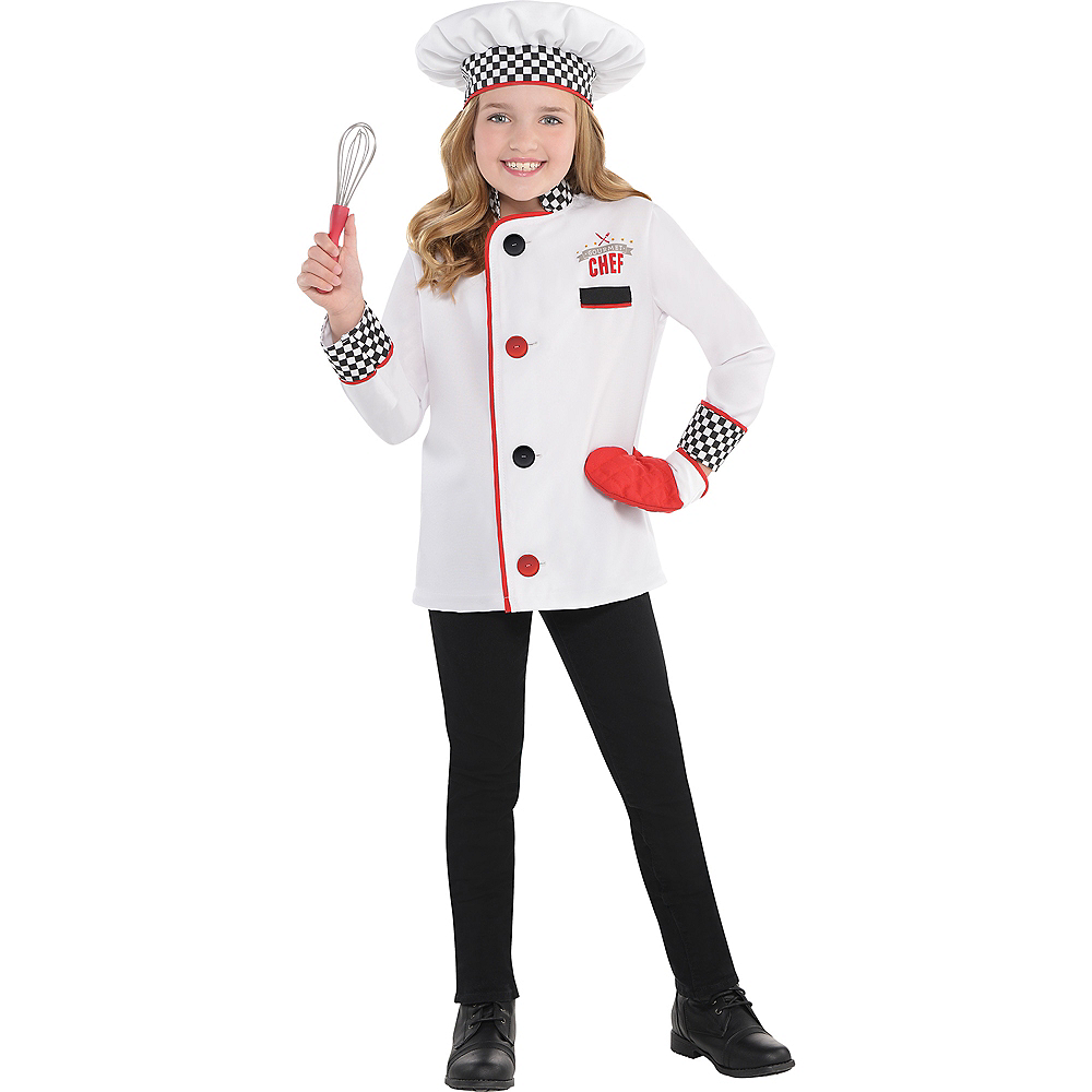 child chef costume party city. Black Bedroom Furniture Sets. Home Design Ideas