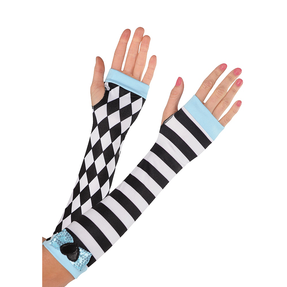 Black & White Alice Arm Warmers Image #1