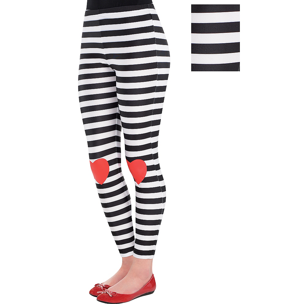 0975ed0f71693 Child Red Queen Leggings | Party City