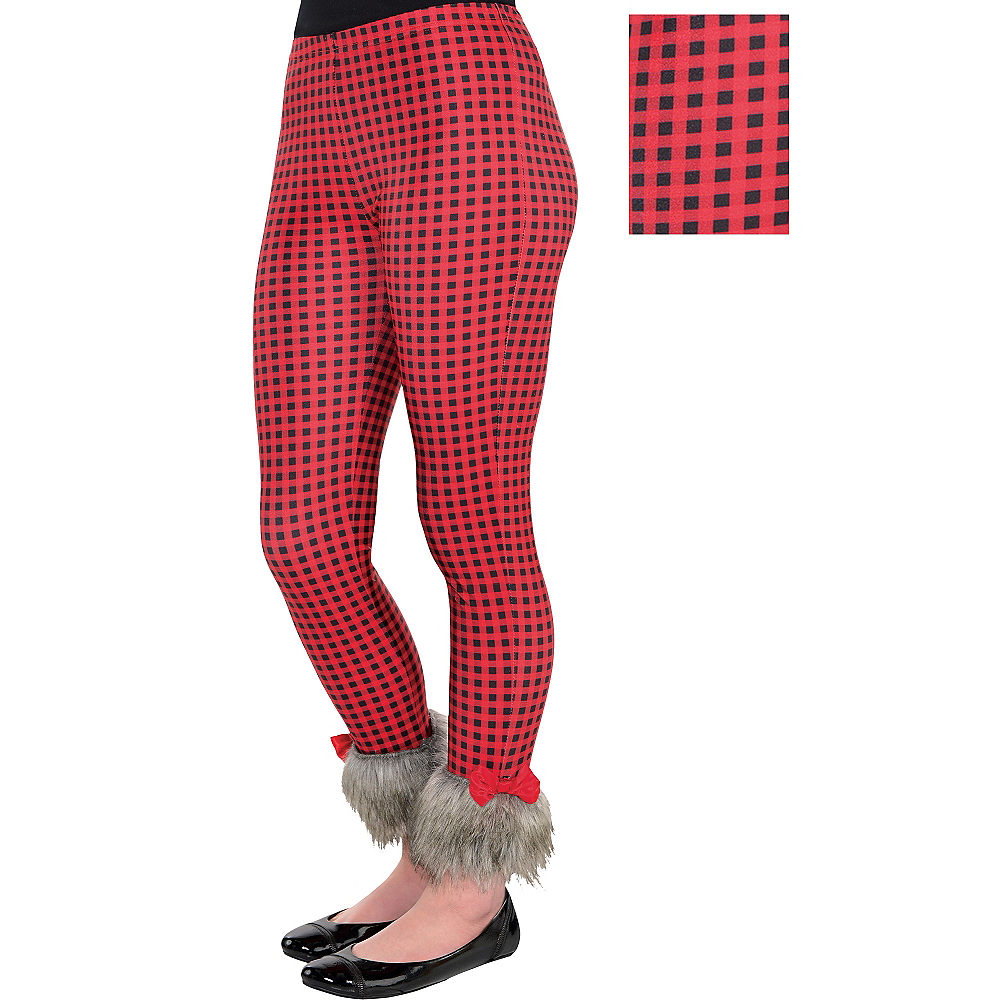 Child Red Riding Hood Leggings Image #1