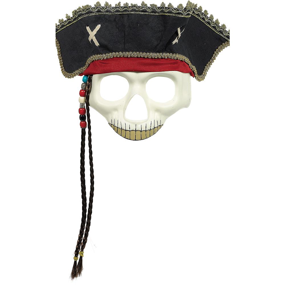 Pirate Hat Skull Mask Image #1