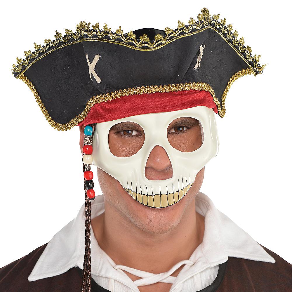 Pirate Hat Skull Mask Image #2