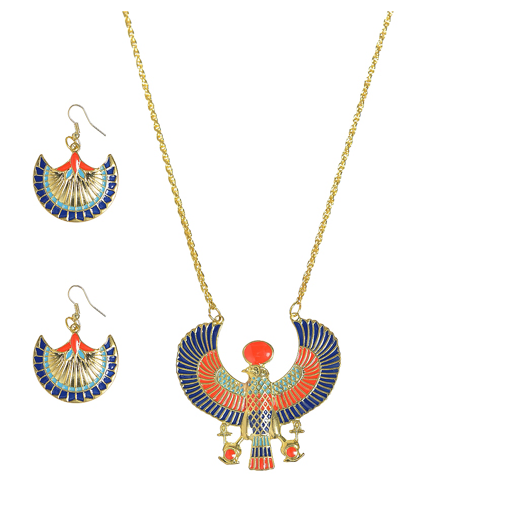 Egyptian Jewelry Set 3pc Image #1