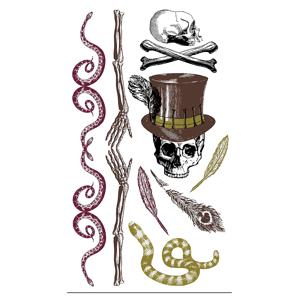 Witch Doctor Tattoos 12ct Image #1